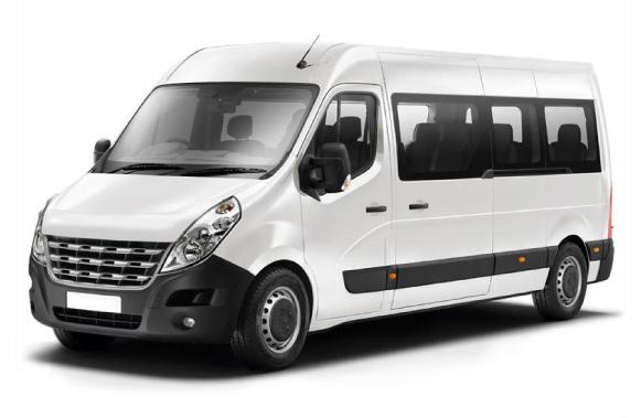 Automóvel para até 12 passageiros